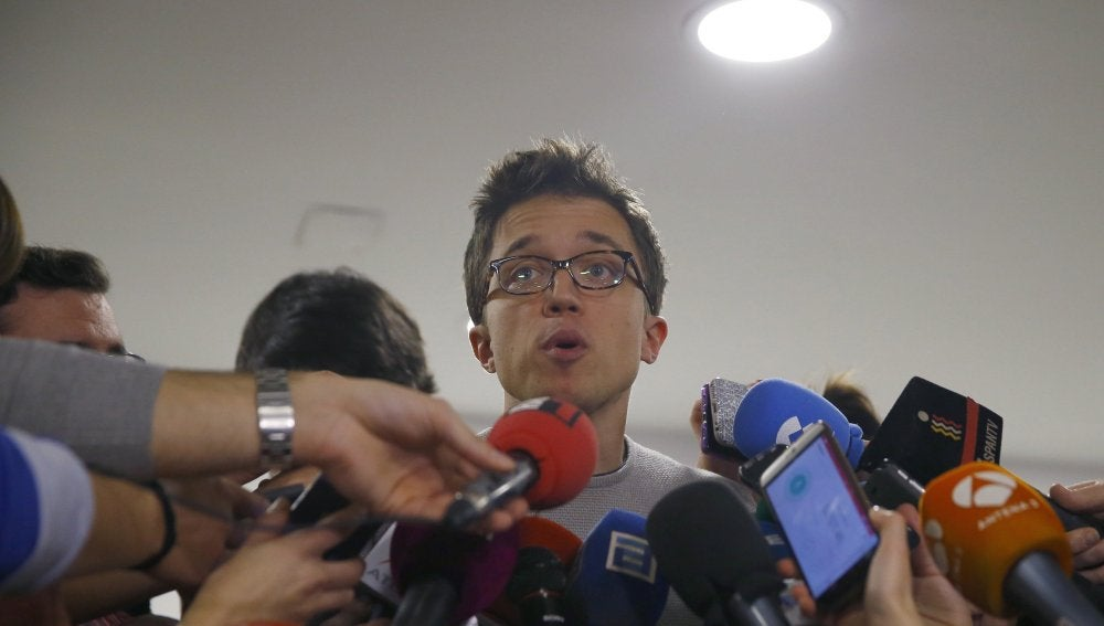 Íñigo Errejón tras el Consejo Ciudadano