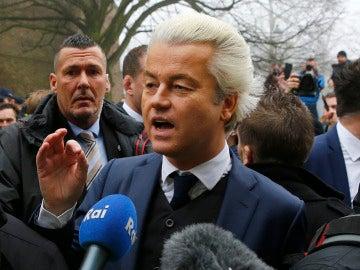 El ultraderechista holandés Geert Wilders