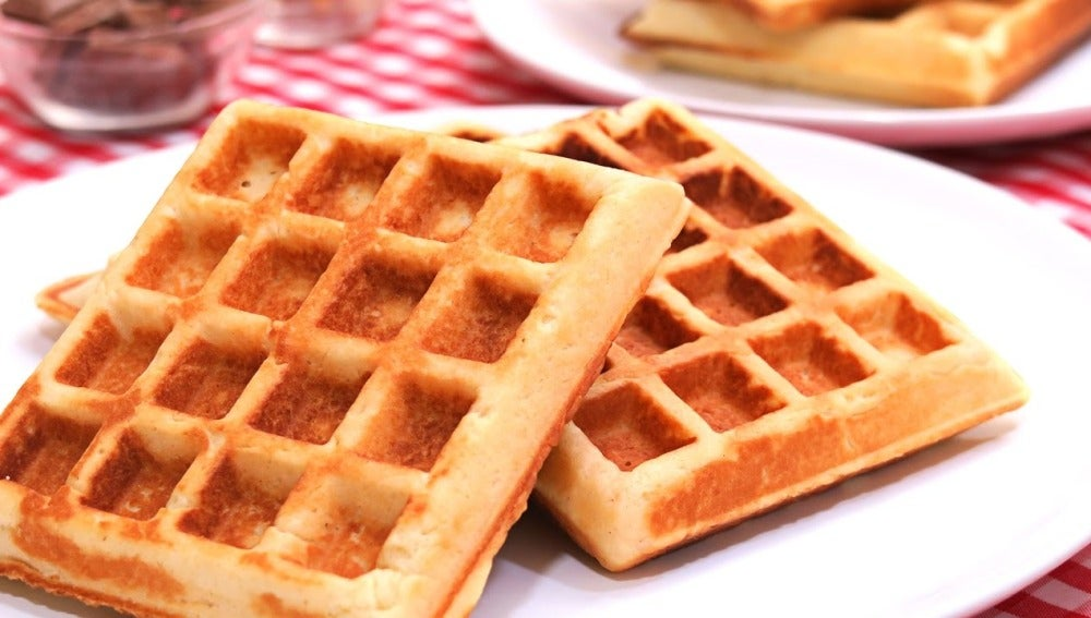 Waffles   Gofres Belgas Caseros   Los más deliciosos que existen!!