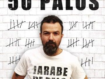 Carátula de '50 palos', lo nuevo de Jarabe de Palo