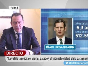 """El fiscal Horrach no descarta solicitar """"prisión preventiva con fianza"""" para Urdangarin y Torres"""