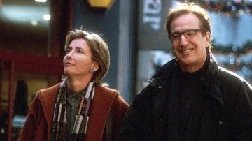 Alan Rickman y Emma Thompson en 'Love Actually'
