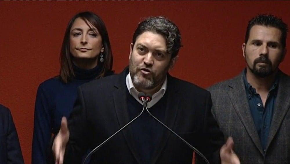 """Frame 23.080445 de: Ciudadanos pide al presidente de Murcia que """"dimita, en virtud de su palabra"""""""