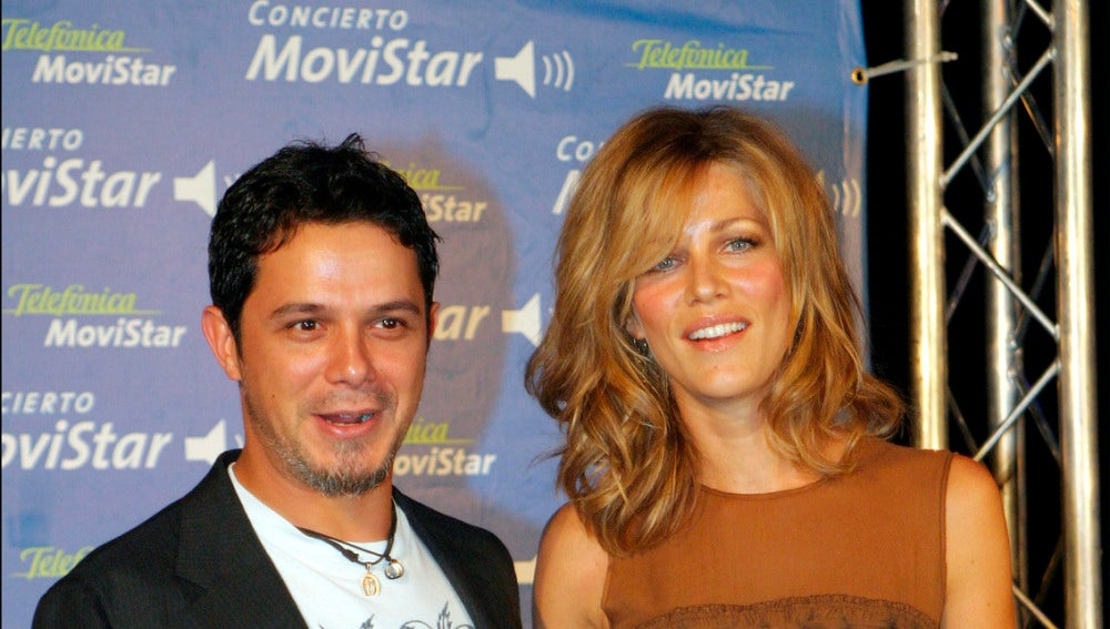 Alejandro Sanz y Jaydy Mitchel