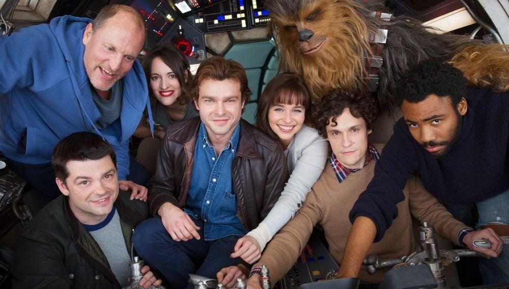 Los nuevos protagonistas del spin-off de Han Solo