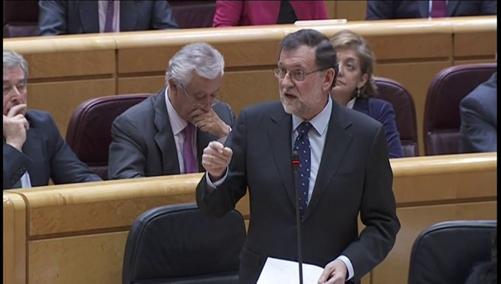 """Frame 2.628502 de: Rajoy defiende un pacto de pensiones para los próximos ''20 o 25 años'"""""""