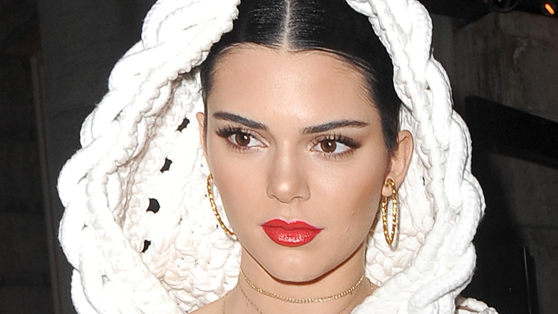 Kendall Jenner en la after party de Burberry