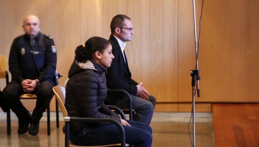 El hombre y la mujer acusados del asesinato del hijo de ella, de veintiún meses, en octubre de 2014 en Oviedo