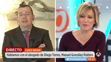 Manuel González Peeters, abogado de Diego Torres