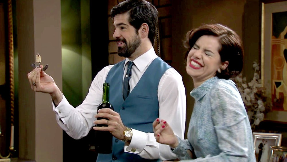 La estrategia de Alonso para sacar una sonrisa a Marta