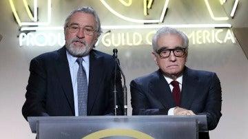 Robert de Niro y Martin Scorsese