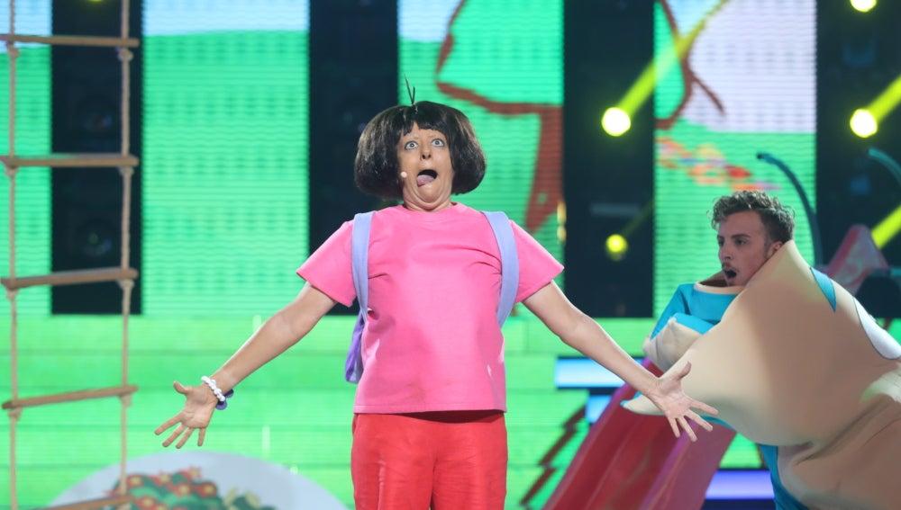 Yolanda Ramos nos abre las puertas del mágico mundo de Dora la Exploradora