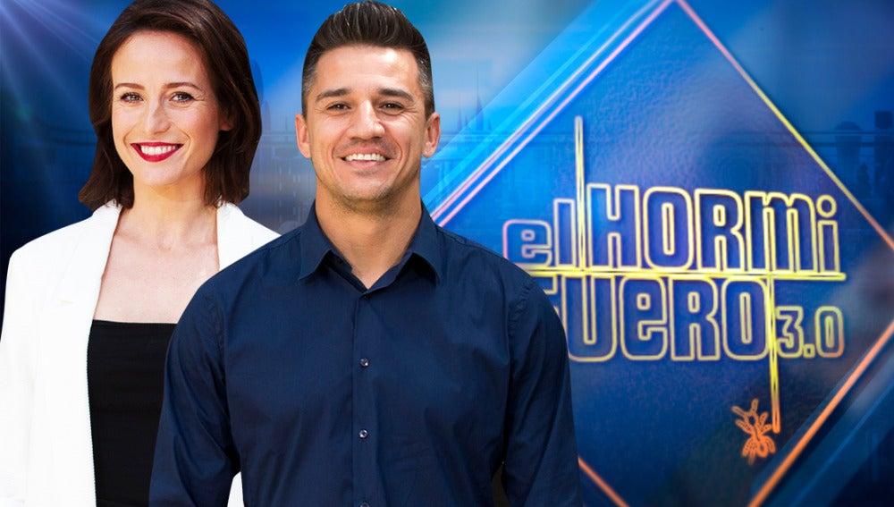visitan Marta Etura y Carlos El Hormiguero
