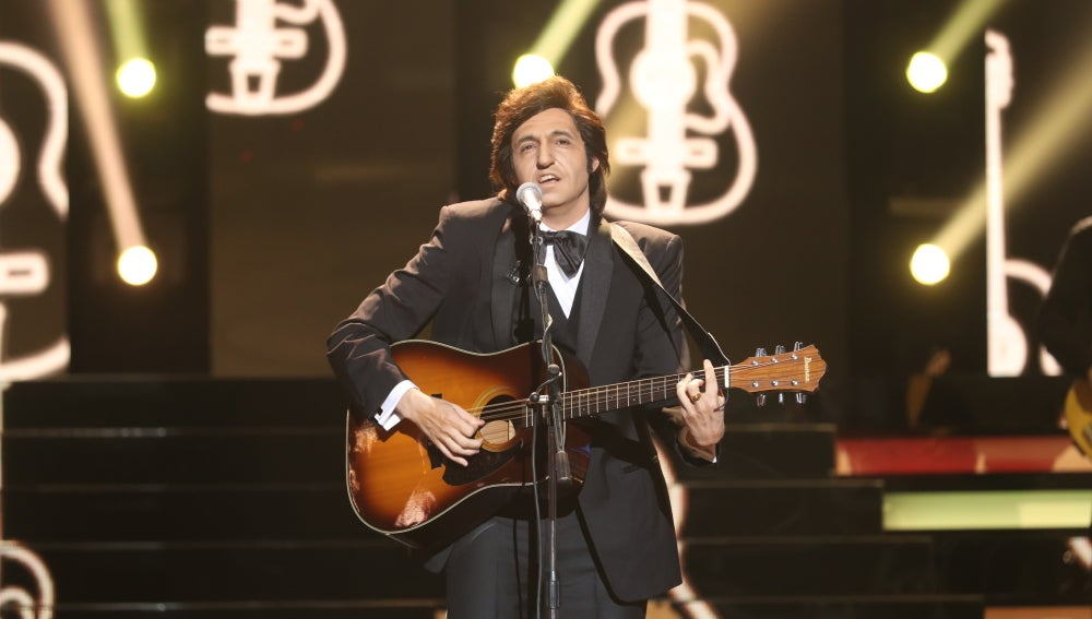 David Guapo resucita a la leyenda del country Johnny Cash con 'Folsom prison blues'