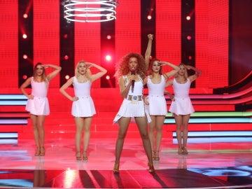 Una poderosa Beatriz Luengo 'dirige el mundo' como Beyoncé