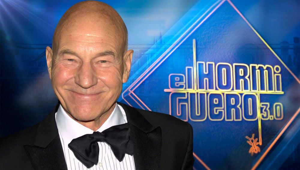 Patrick Stewart, el lobezno de X-Men, viene a divertirse a 'El Hormiguero'