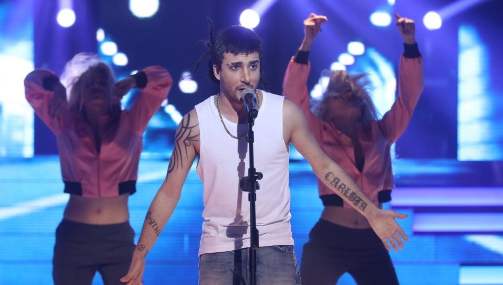 Blas Cantó se vuelca con la rumba de Melendi en un extraordinario 'Kisiera yo saber'