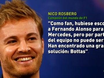Nico Robserg, actual campeón del mundo de F1