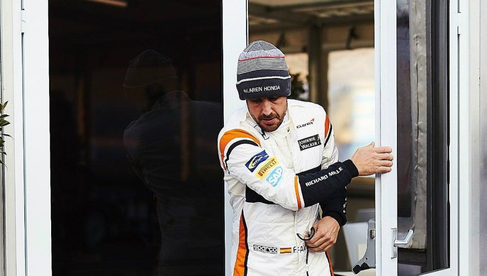 Alonso, en Montmeló