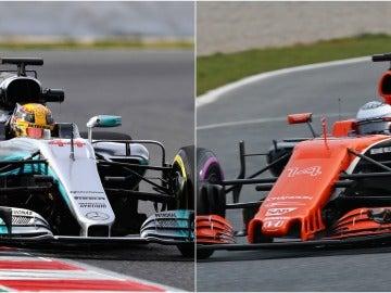 Diferencia de sonido entre Mercedes y McLaren