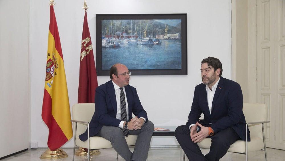 Pedro Antonio Sánchez y Miguel Sánchez