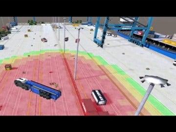 Frame 31.107555 de: Los bomberos de Vizcaya se preparan con simulaciones en realidad virtual