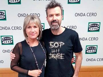 Julia Otero y Pau Donés