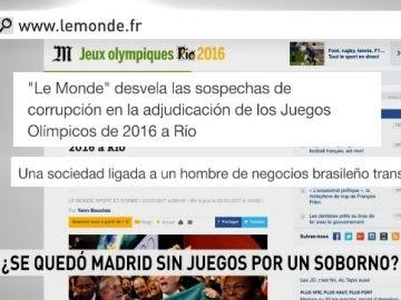 Investigación de la compra de votos en la designación de Río 2016