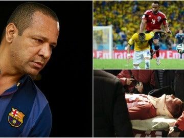 El padre de Neymar, indignado tras el susto de Torres