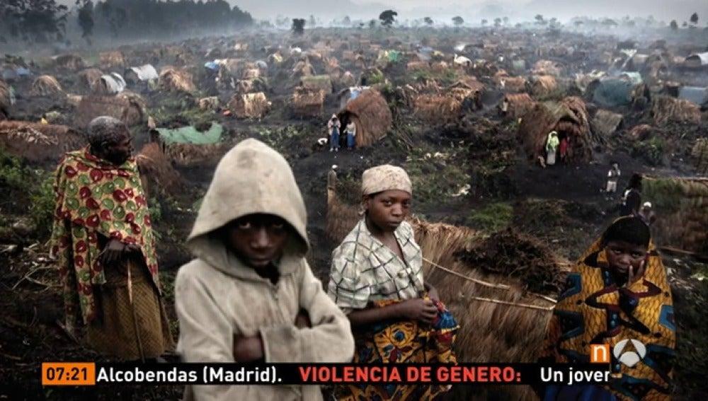 Frame 45.874444 de: El Premio de Fotografía Luis Valtueña, una exposición de instantáneas que sacuden conciencias y denuncian violaciones de derechos humanos