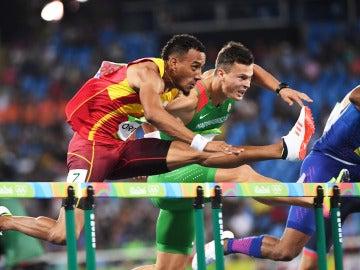 Orlando Ortega, en acción en los pasados JJOO de Río