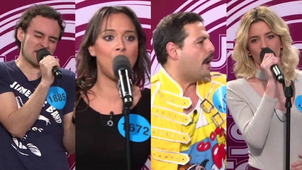 Chenoa, Edurne, Freddie Marcury o Joaquín Sabina nos dejan atónitos en los castings de 'Tu cara no me suena todavía'