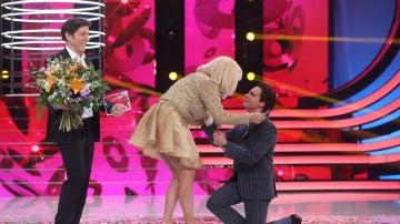 Blas Cantó comparte su premio final con Yolanda Ramos