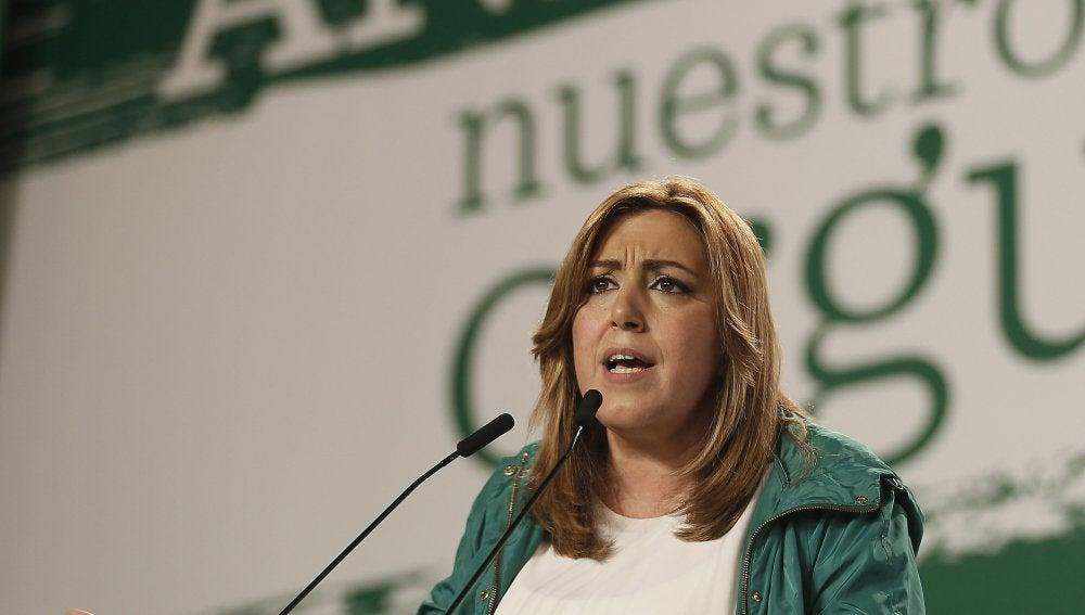Susana Díaz, en un acto en Andalucía