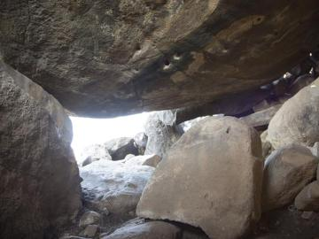 Dolmen encontrado en Israel