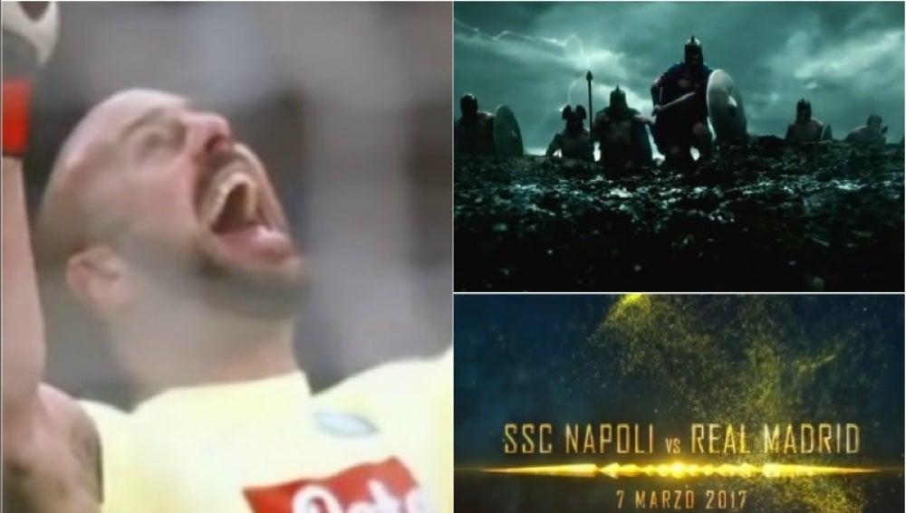 Nápoles-Real Madrid, un partido de película