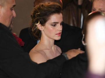 Emma Watson en la premiere de 'La Bella y la Bestia'