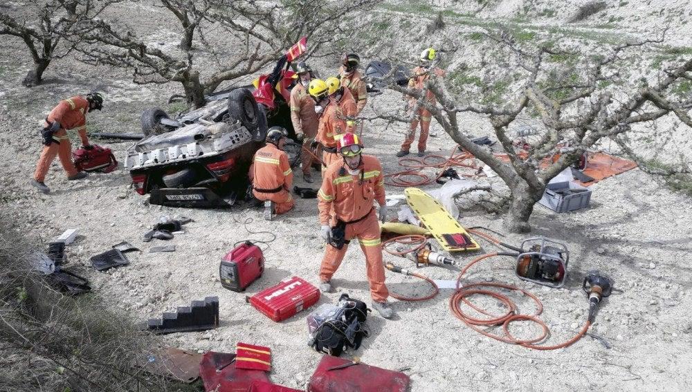 Accidente mortal de tráfico en Valencia
