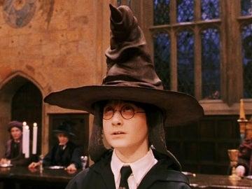 Harry Potter con el Sombrero Seleccionador