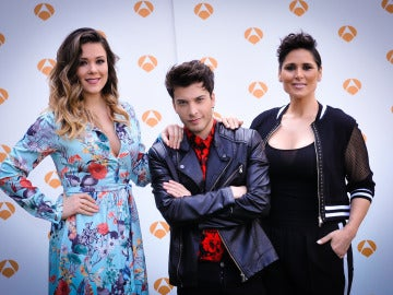 Lorena Gómez, Blas Cantó y Rosa López