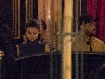 Selena Gomez y The Weeknd en París