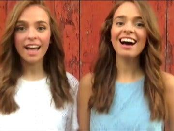 Frame 0.0 de: Dos gemelas vascas, Twin Melody, se hacen famosas en la red por sus versiones musicales
