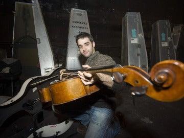 El violonchelista de origen gallego Pablo Ferrández