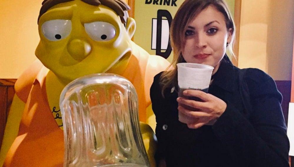 Alison Grasso, becaria de World of Beer en 2017