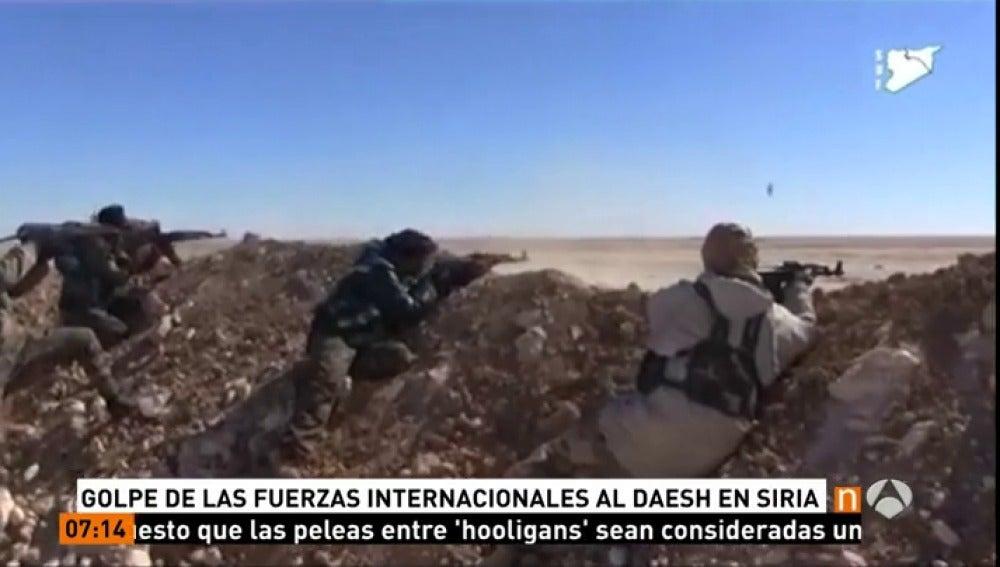 Frame 1.172222 de: El Ejército sirio asegura que se ha hecho con el control de otras 18 localidades en Alepo