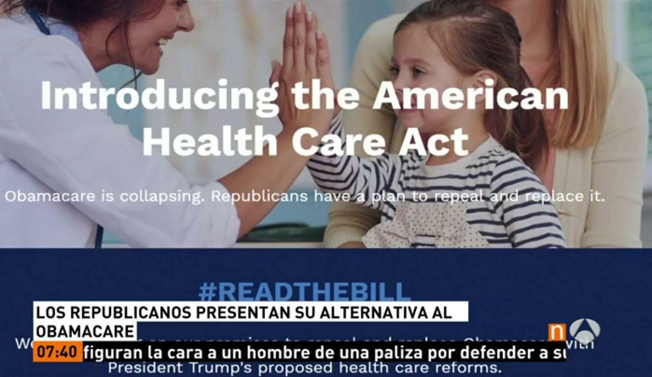 Frame 7.32 de: Los republicanos revelan el esperado proyecto para derogar el 'Obamacare' y congelan las incripciones en el MedicAid