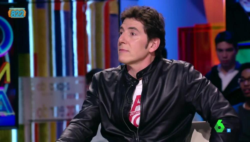 Manel Fuentes, en Zapeando