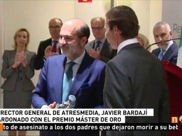 Frame 14.207777 de: Javier Bardají, galardonado con el Máster de Oro del Real Fórum de Alta Dirección