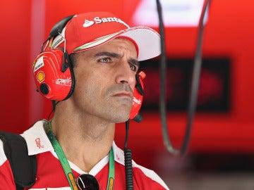 Marc Gené, piloto probador de Ferrari