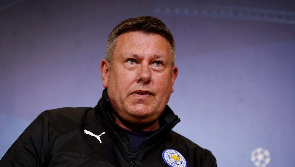 Craig Shakespeare, técnico del Leicester